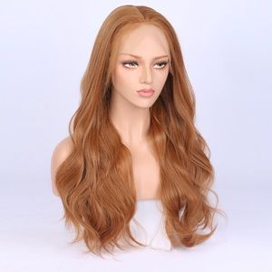 """💫CARRIE 22"""" GOLDEN BROWN LACE FRONT GLUE-LESS Wig"""